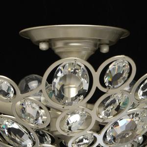 Hängelampe Laura Crystal 6 Silber - 345012506 small 2