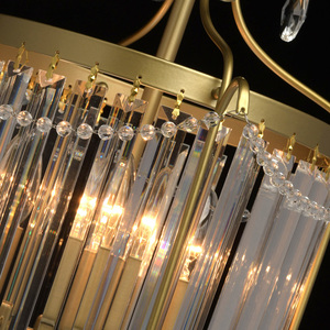 Hängelampe Adele Crystal 3 Gold - 373014403 small 8
