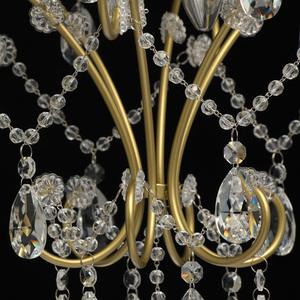 Hängelampe Adele Crystal 3 Gold - 373014503 small 12