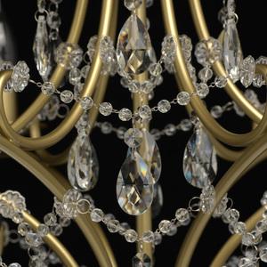 Hängelampe Adele Crystal 6 Gold - 373014606 small 2