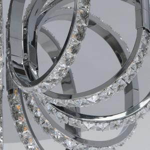 Hängelampe Venezia Crystal 50 Chrom - 276015001 small 3