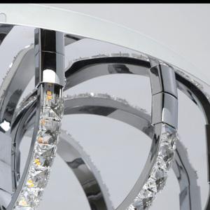 Hängelampe Venezia Crystal 50 Chrom - 276015001 small 7