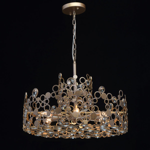 Hängelampe Monarch Loft 6 Messing - 121011206 small 1