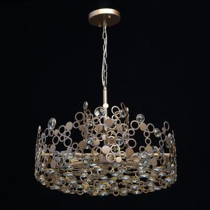 Hängelampe Monarch Loft 6 Messing - 121011206 small 7