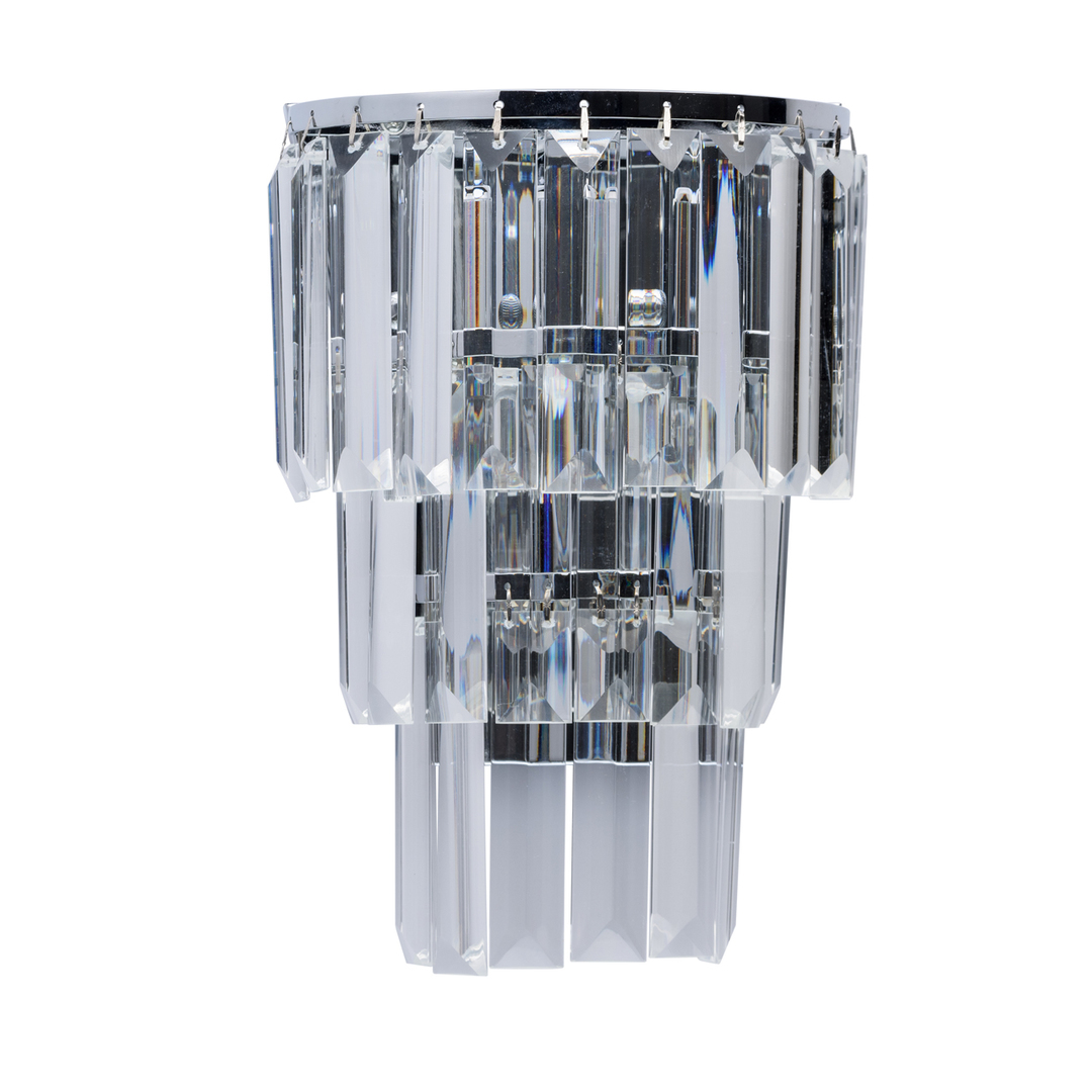 Wandleuchte Adelard Crystal 1 Chrom - 642022601