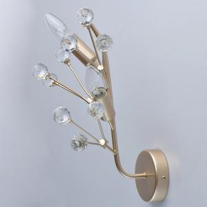 Wandleuchte Adriatica Flora 2 Gold - 280021902 small 3