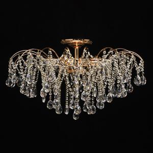 Venezia Crystal 9 Gold Kronleuchter - 464018709 small 5