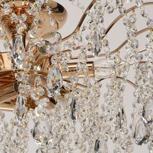 Venezia Crystal 9 Gold Kronleuchter - 464018709 small 6