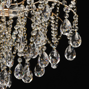 Venezia Crystal 9 Gold Kronleuchter - 464018709 small 11