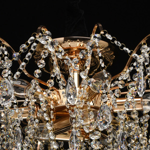 Venezia Crystal 9 Gold Kronleuchter - 464018709 small 12