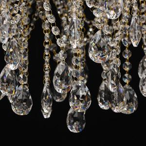 Venezia Crystal 9 Gold Kronleuchter - 464018709 small 2