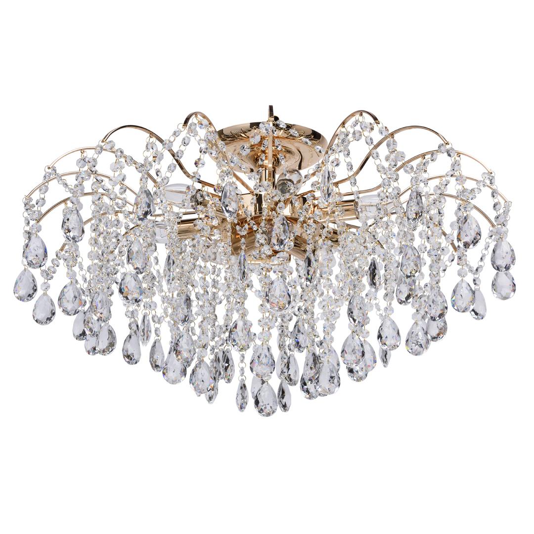 Venezia Crystal 9 Gold Kronleuchter - 464018709