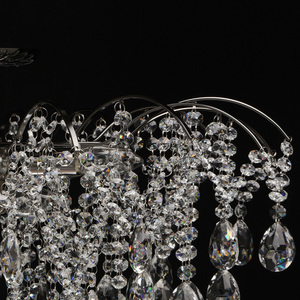 Hängelampe Venezia Crystal 9 Schwarz - 464018809 small 8