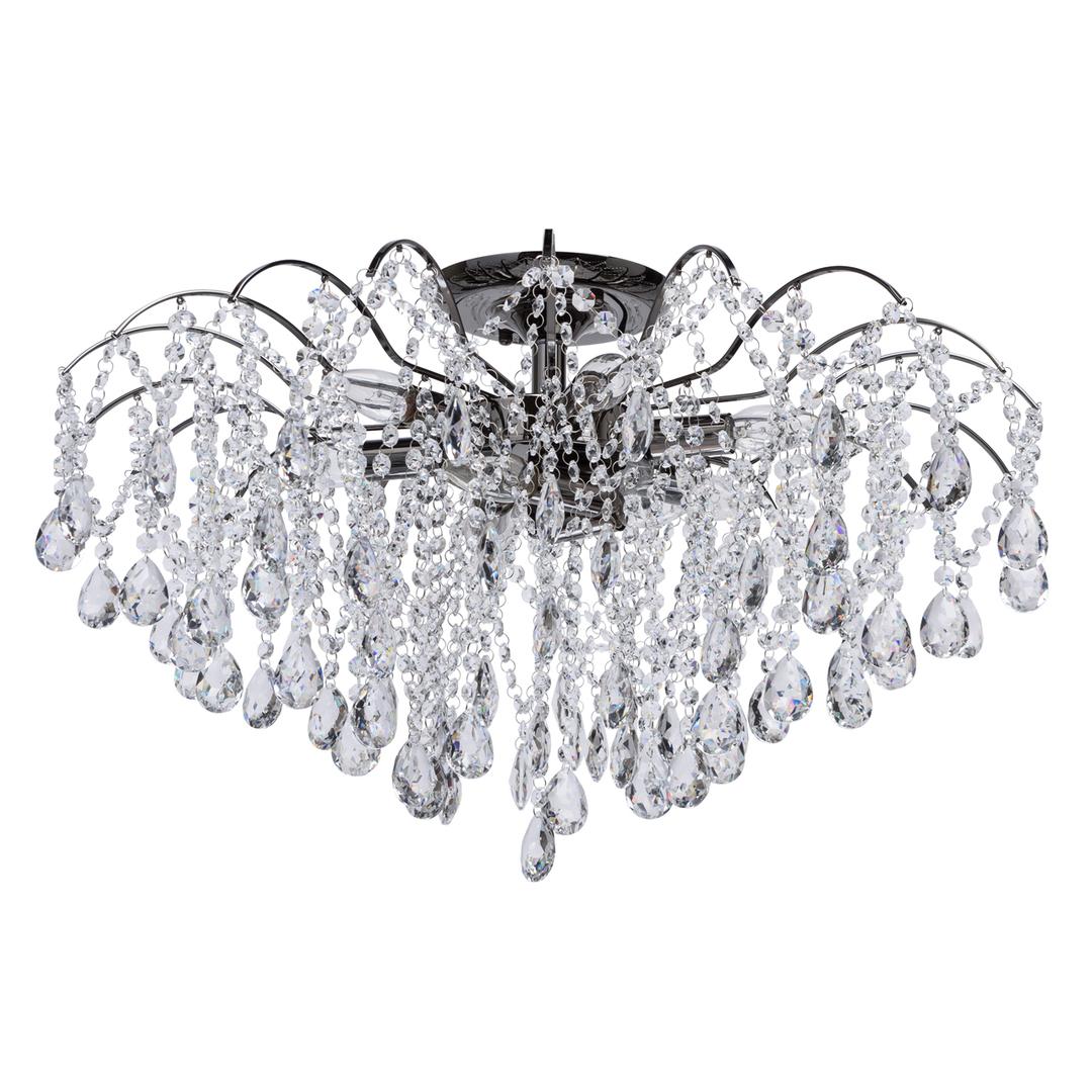 Hängelampe Venezia Crystal 9 Schwarz - 464018809