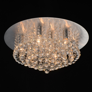 Hängelampe Venezia Crystal 9 Silber - 276014409 small 1