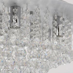Hängelampe Venezia Crystal 9 Silber - 276014409 small 4