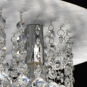 Hängelampe Venezia Crystal 9 Silber - 276014409 small 6