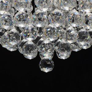 Hängelampe Venezia Crystal 9 Silber - 276014409 small 8