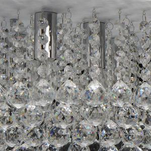 Hängelampe Venezia Crystal 9 Silber - 276014409 small 9