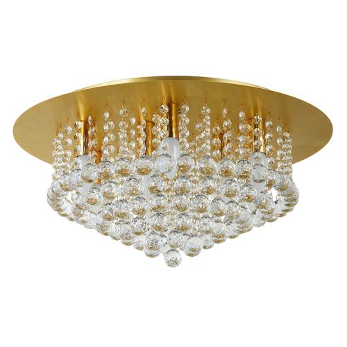 Hängelampe Venezia Crystal 9 Gold - 276014509
