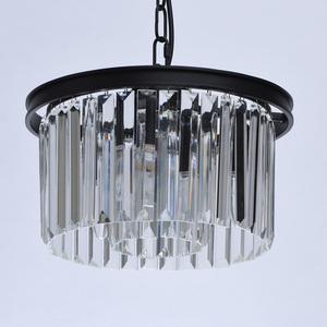 Hängelampe Goslar Crystal 3 Schwarz - 498015103 small 4