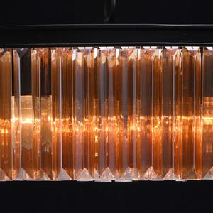 Hängelampe Goslar Crystal 10 Schwarz - 498015010 small 10
