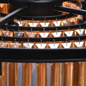 Hängelampe Goslar Crystal 10 Schwarz - 498015010 small 14