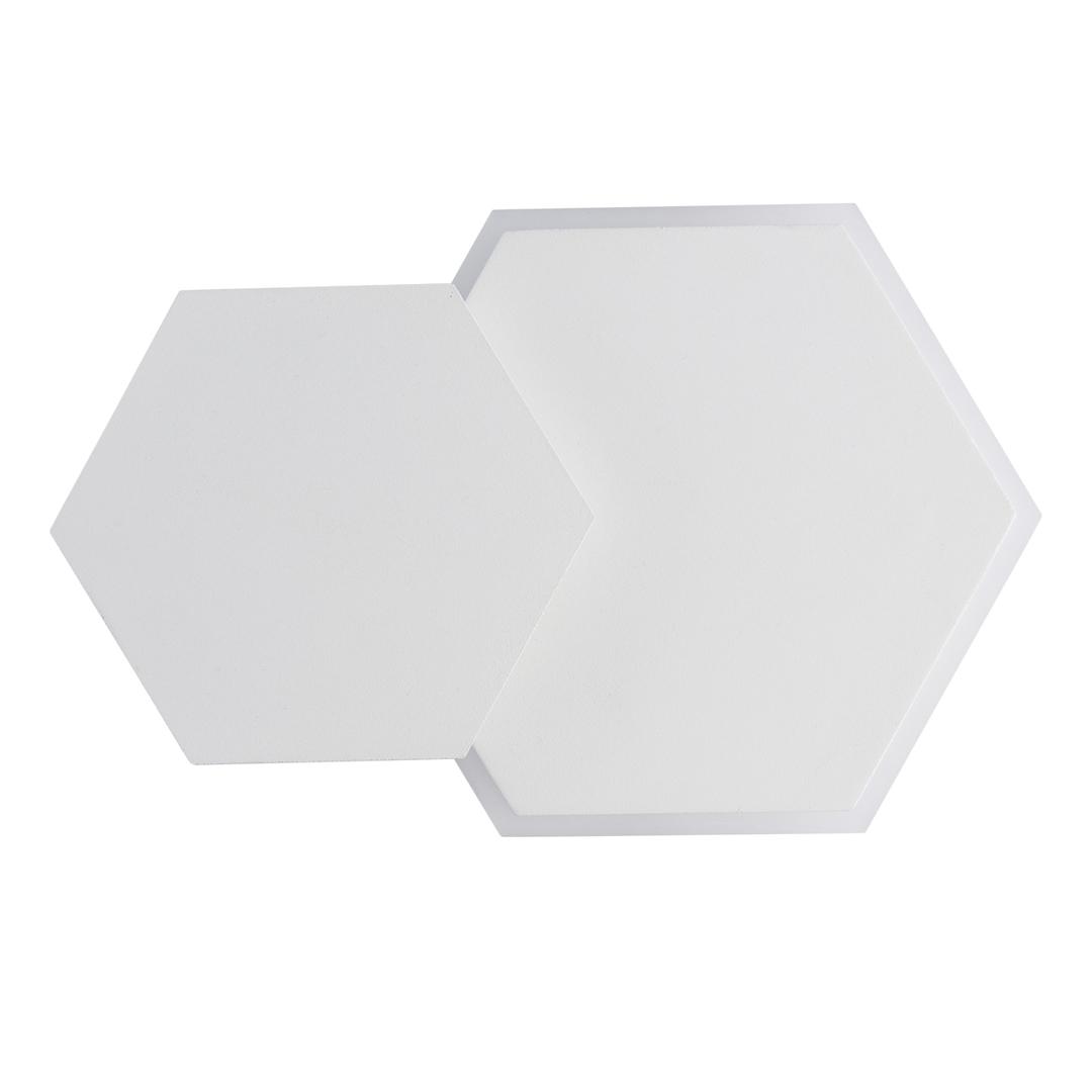 Wandleuchte Darro Techno 8 Weiß - 637028002