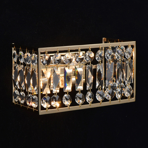 Wandleuchte Monarch Crystal 2 Gold - 121021902 small 1