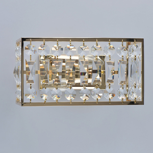 Wandleuchte Monarch Crystal 2 Gold - 121021902 small 2