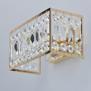 Wandleuchte Monarch Crystal 2 Gold - 121021902 small 3