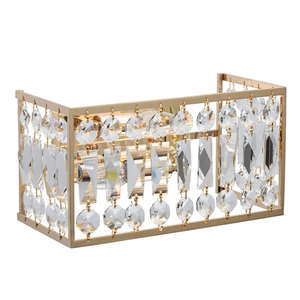 Wandleuchte Monarch Crystal 2 Gold - 121021902 small 0