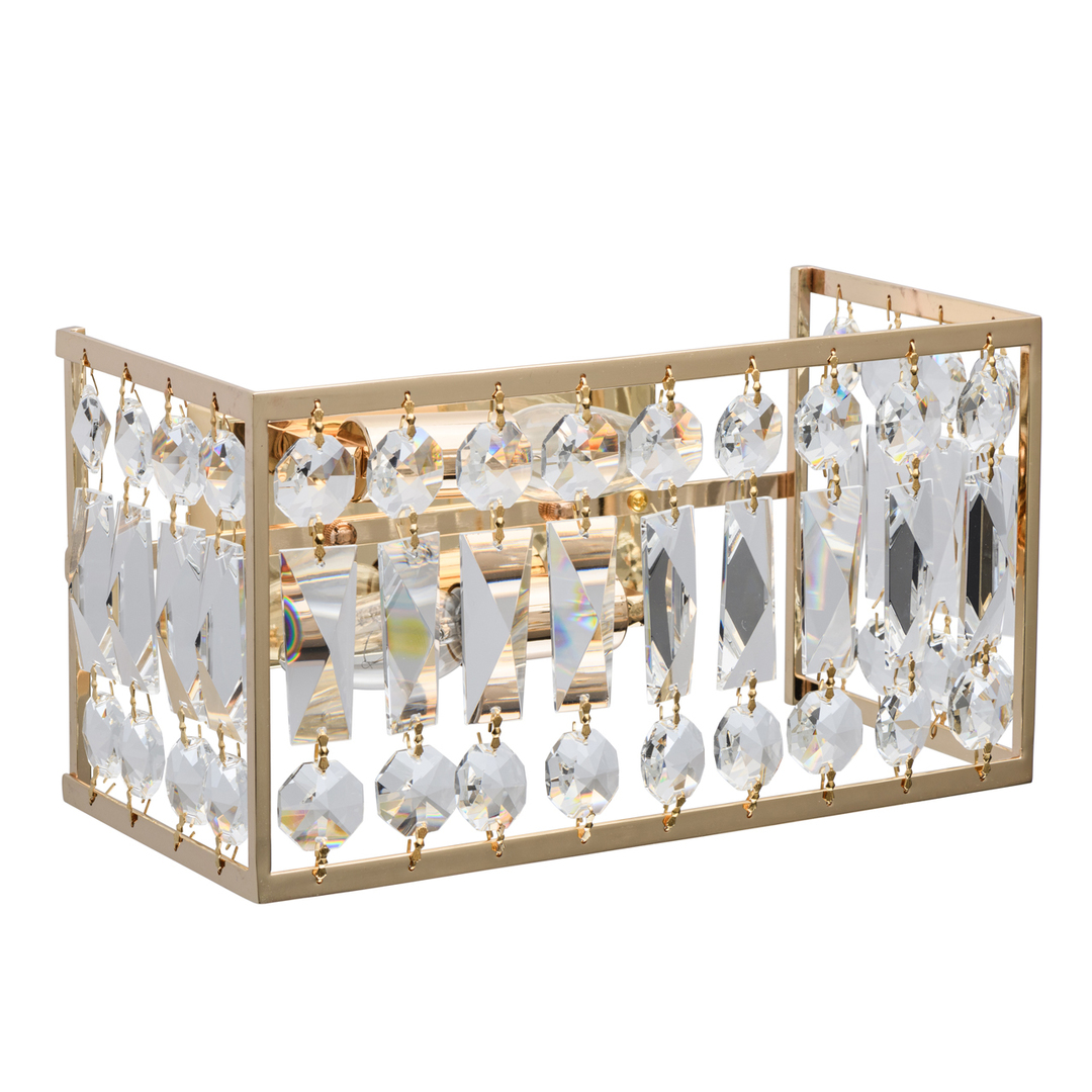 Wandleuchte Monarch Crystal 2 Gold - 121021902