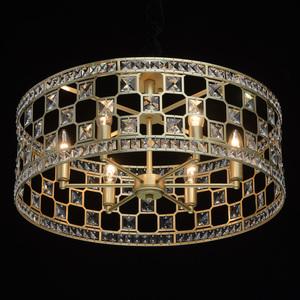 Hängelampe Monarch Crystal 6 Gold - 121011606 small 1