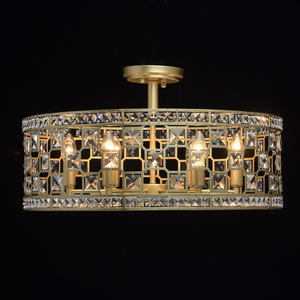 Hängelampe Monarch Crystal 6 Gold - 121011606 small 4