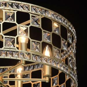 Hängelampe Monarch Crystal 6 Gold - 121011606 small 6