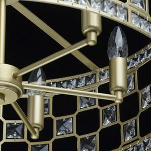Hängelampe Monarch Crystal 6 Gold - 121011606 small 8