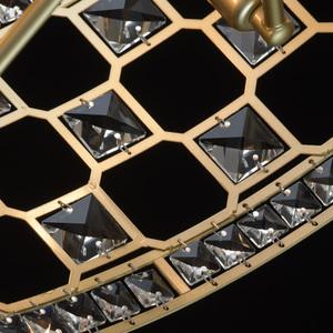Hängelampe Monarch Crystal 6 Gold - 121011606 small 10
