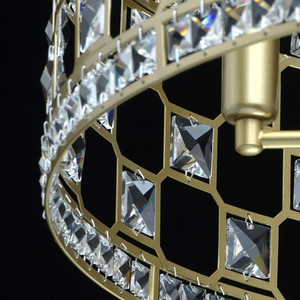 Hängelampe Monarch Crystal 6 Gold - 121011606 small 11