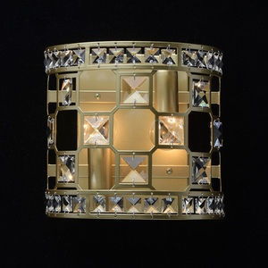 Wandleuchte Monarch Crystal 2 Gold - 121021402 small 1