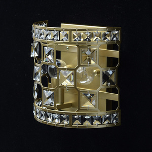 Wandleuchte Monarch Crystal 2 Gold - 121021402 small 2