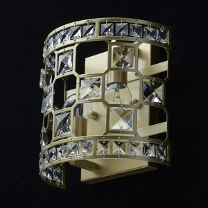 Wandleuchte Monarch Crystal 2 Gold - 121021402 small 3