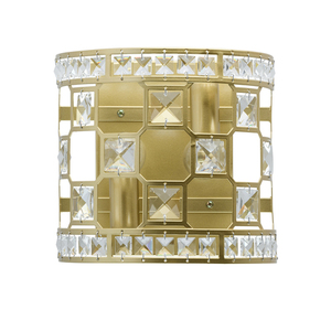 Wandleuchte Monarch Crystal 2 Gold - 121021402 small 0