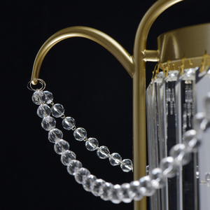 Hängelampe Adele Crystal 6 Gold - 373014806 small 2