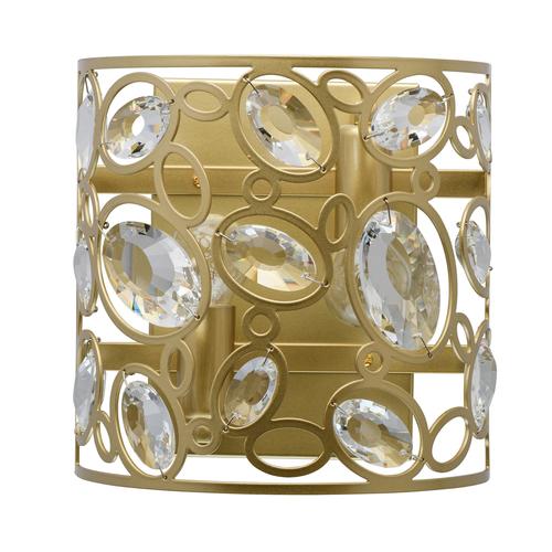 Wandleuchte Laura Crystal 2 Gold - 345022602