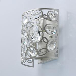 Wandleuchte Laura Crystal 2 Silber - 345022702 small 2
