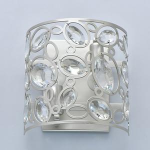 Wandleuchte Laura Crystal 2 Silber - 345022702 small 3