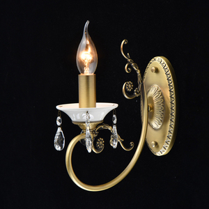 Wandleuchte Candle Classic 1 Messing - 683022301 small 1