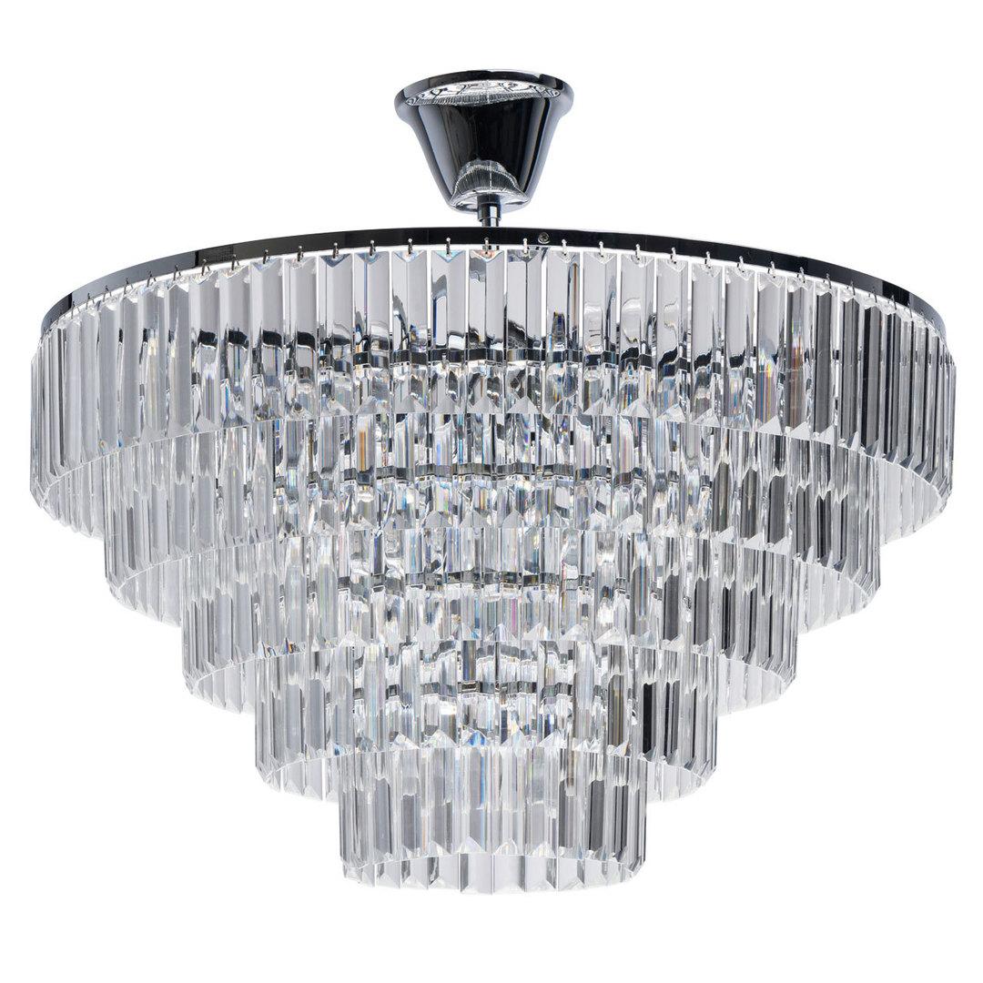 Adelard Crystal 8 Kronleuchter Chrom - 642013008