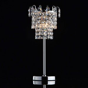 Adelard Crystal 1 Tischleuchte Chrom - 642033201 small 1